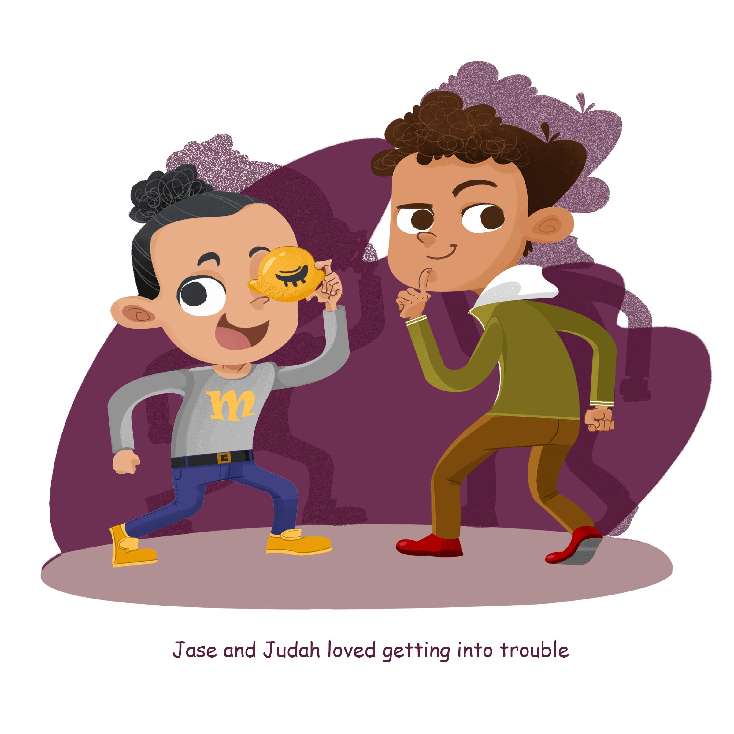Children Book: The Mischievous Adventures of Jase & Judas
