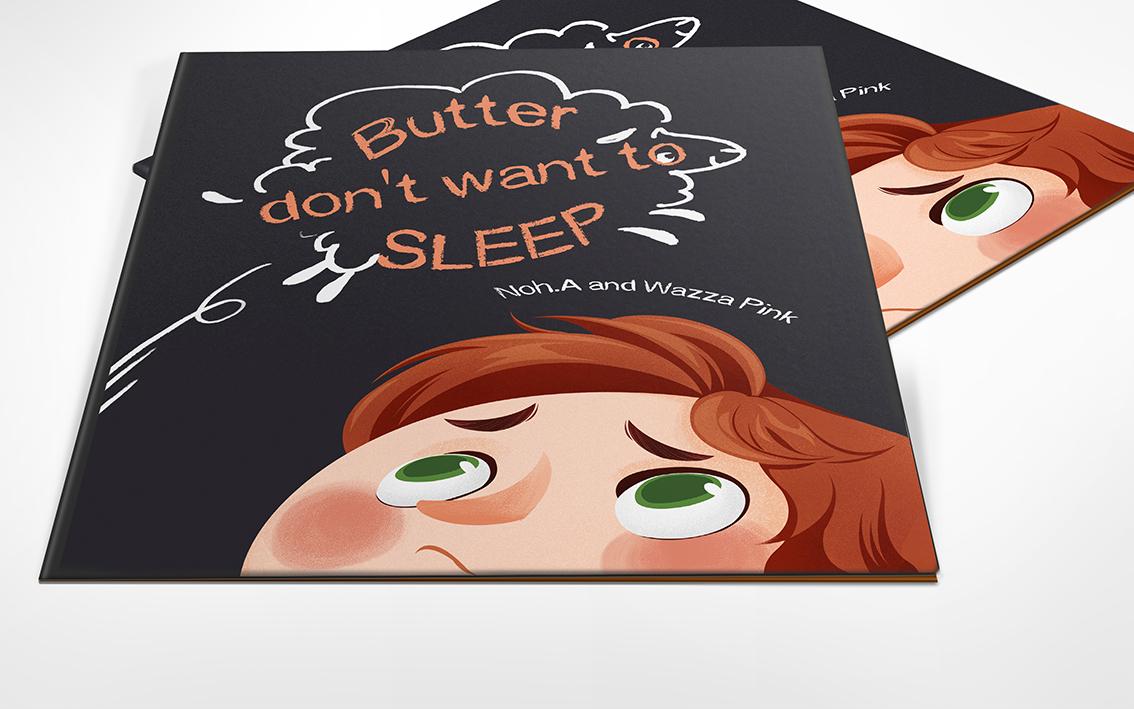 Children Book: Butter don't want to sleep
