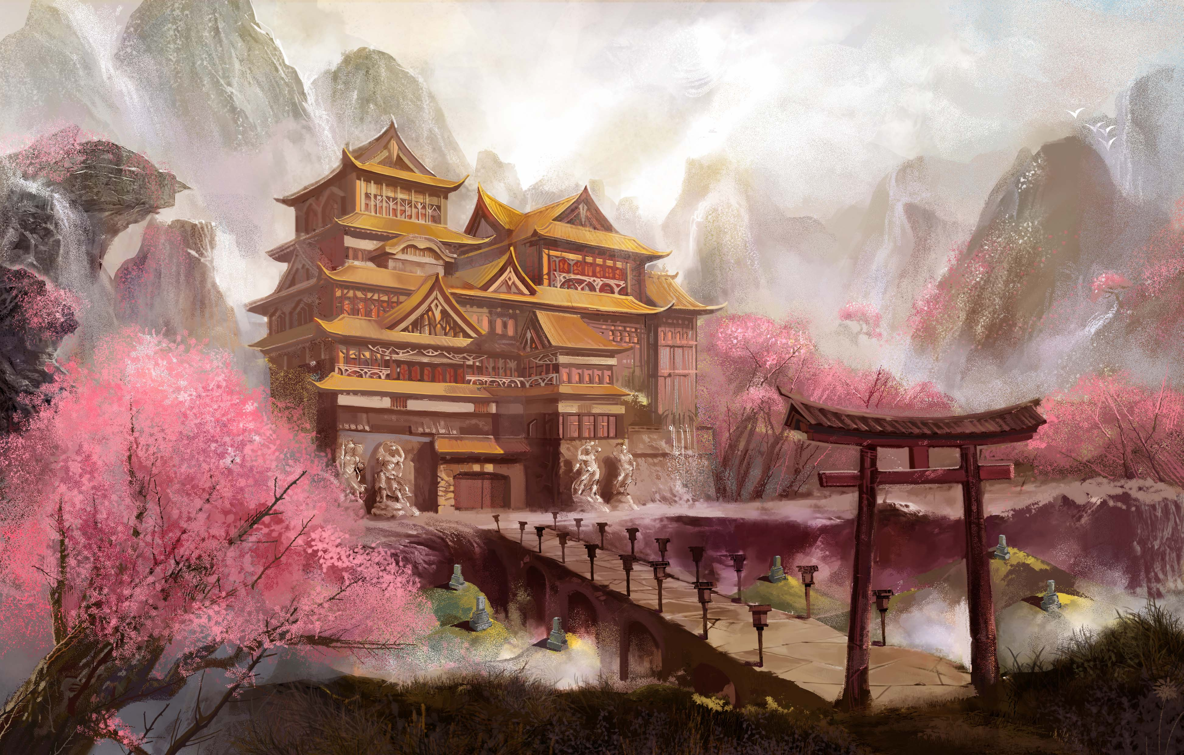 Book Illustration: The Koryo Hall of Adventures
