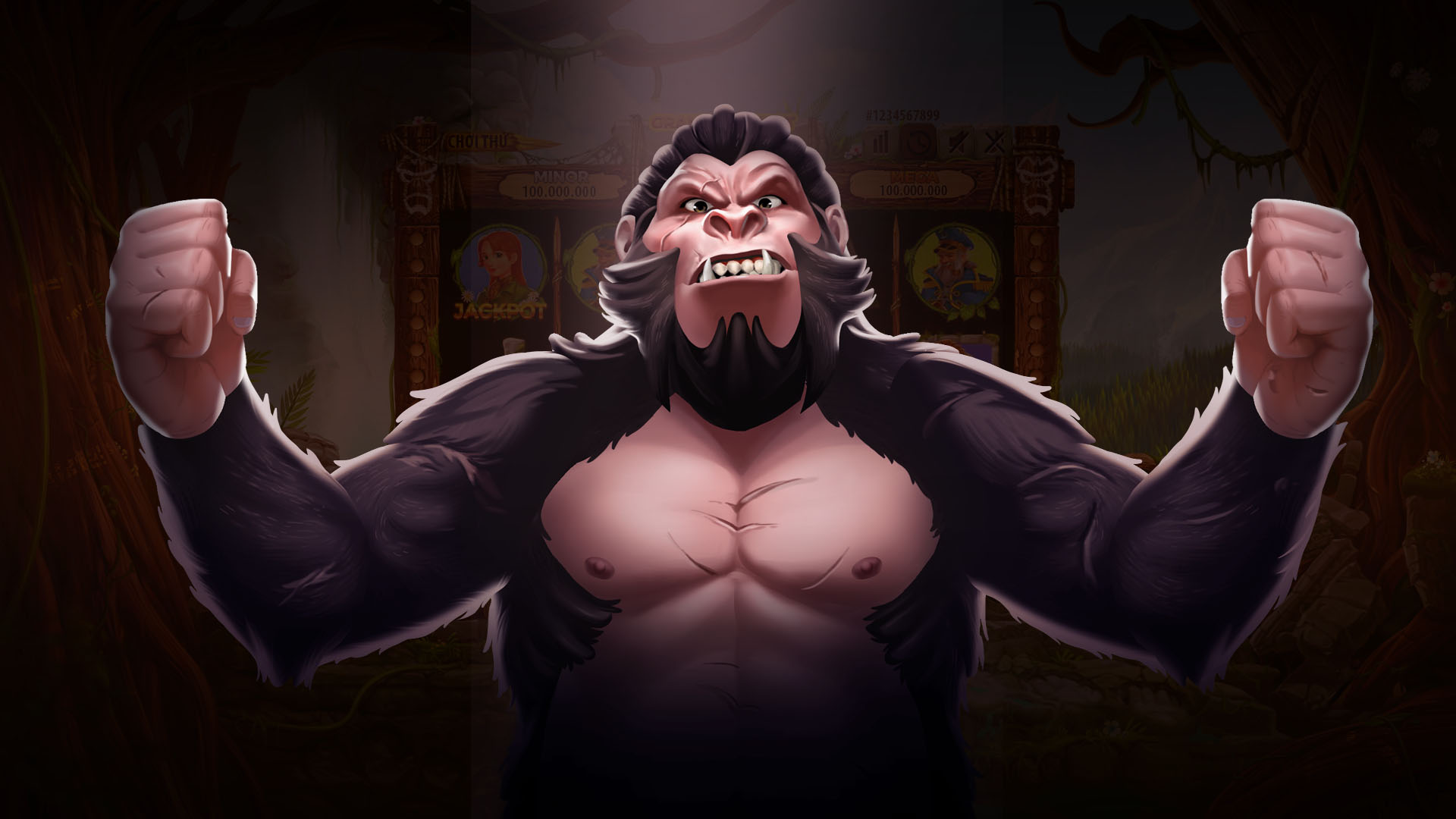 Video Game: Kong – Slot Game