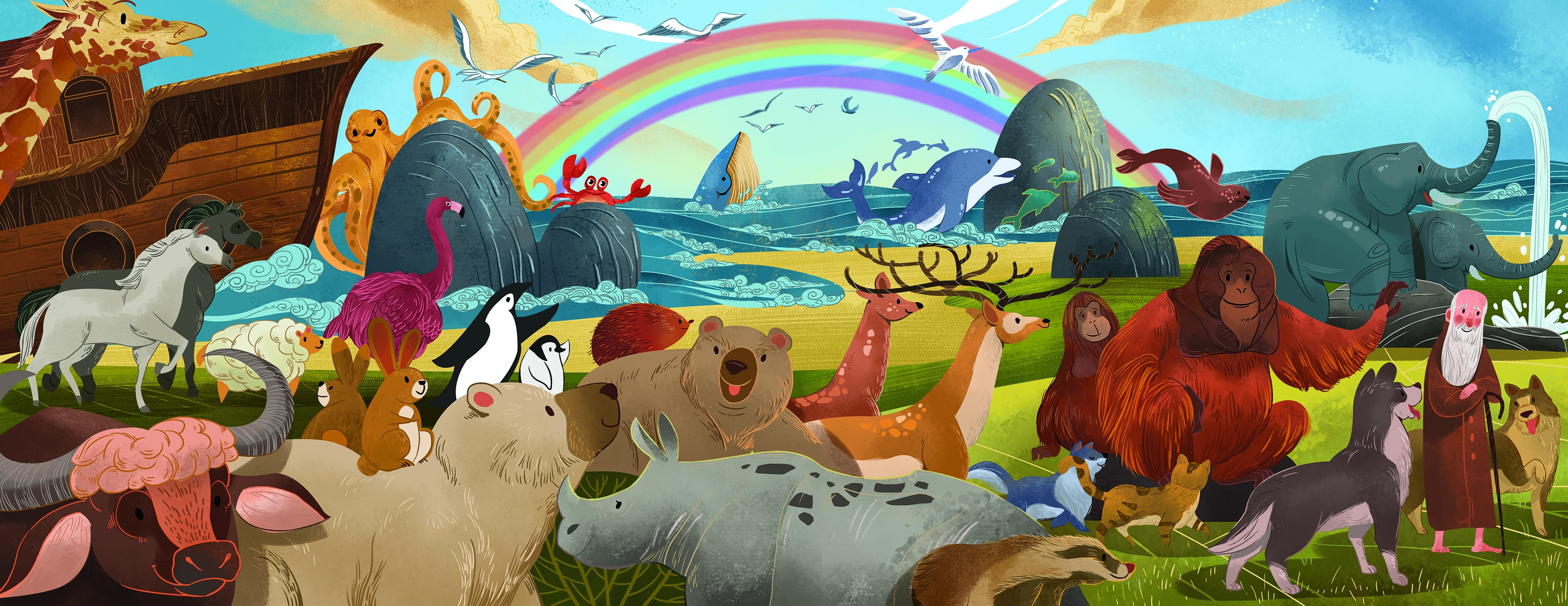 Children Book: The Story of Noah's Ark